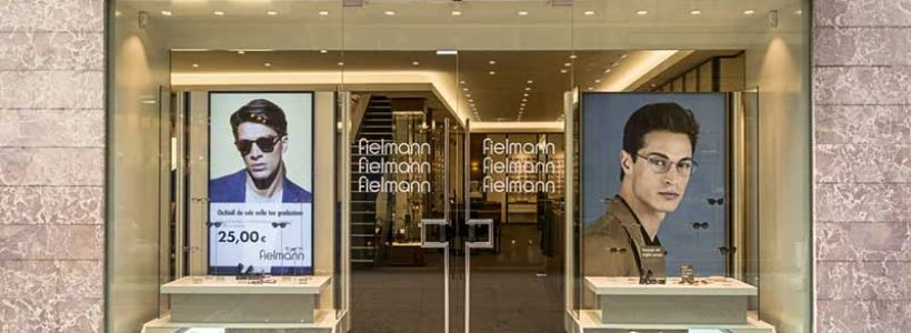 FIELMANN: un negozio di 360 mq. nel centro di Verona.