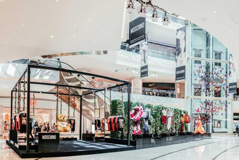 MOSCHINO: un pop-up  store nel Galaxy Macau Mall