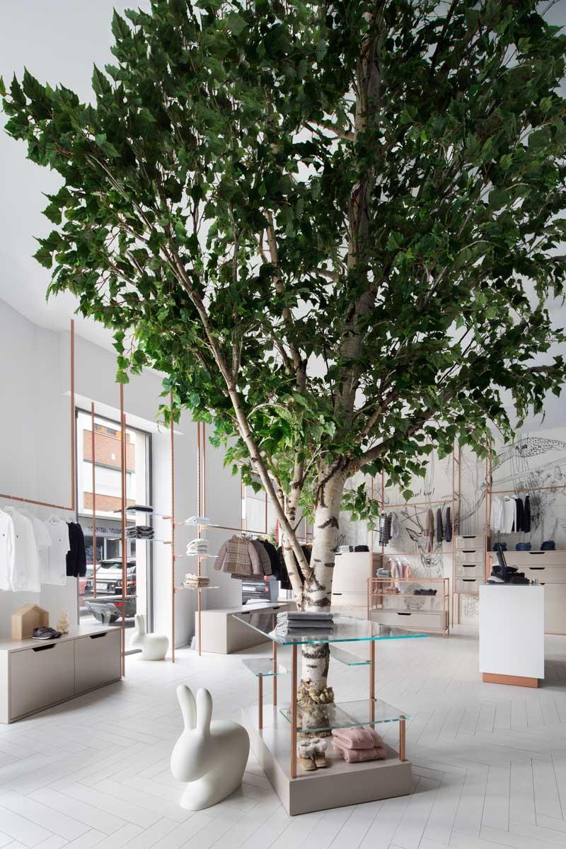 Studio Tenca Associati progetto negozio Albero dei Desideri Alba