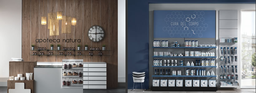 Furnishing solutions for pharmacies by Arken Group.