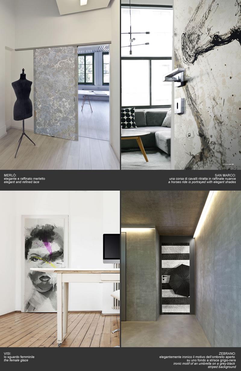 Doorpaper wallpapers collections cover doors