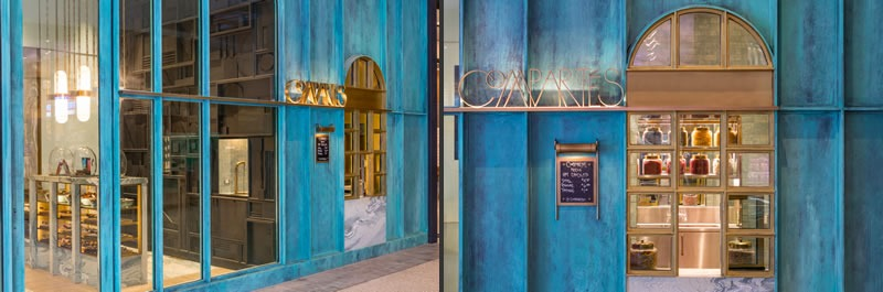 cioccolateria Compartes Los Angeles design Kelly Wearstler