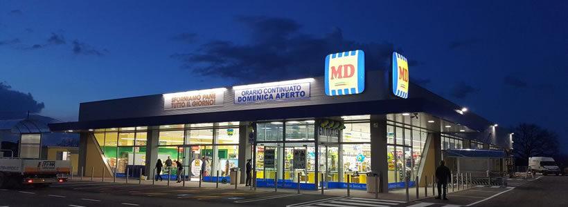 MD si affida a LG per il massimo comfort climatico nei suoi punti vendita.