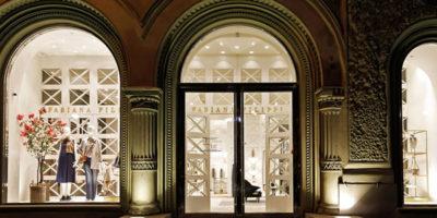 FABIANA FILIPPI apre una nuova boutique a San Pietroburgo.
