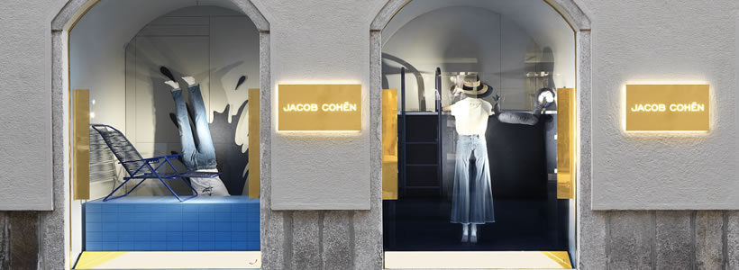 low priced bf4a4 f0031 JACOB COHËN apre la prima boutique a Milano. | AN ...