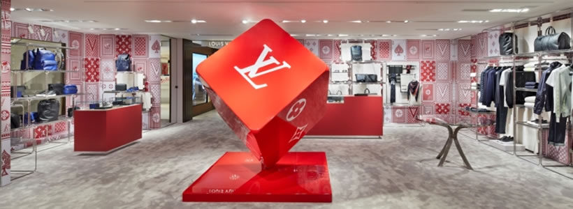 LOUIS VUITTON: il pop-up-store in Rinascente cambia veste.