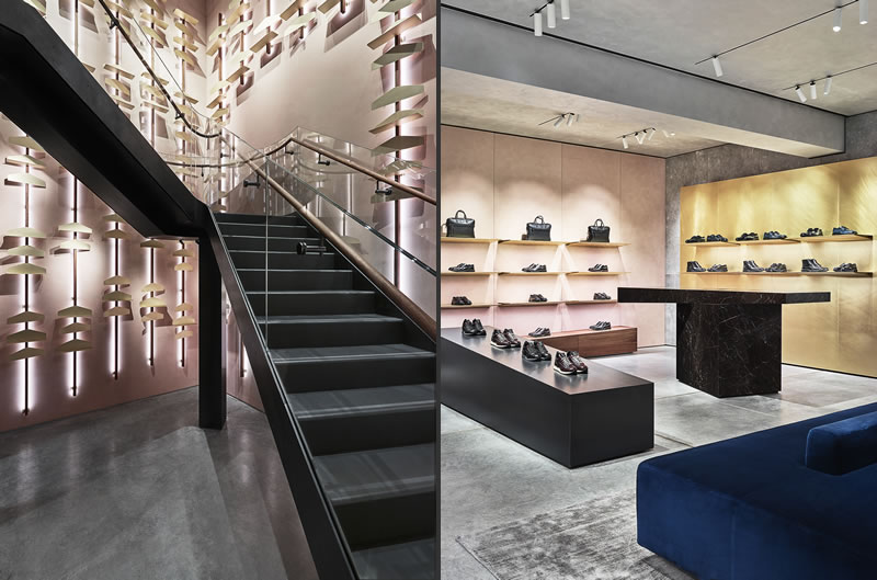 retail design Checkland Kindleysides hogan milan boutique
