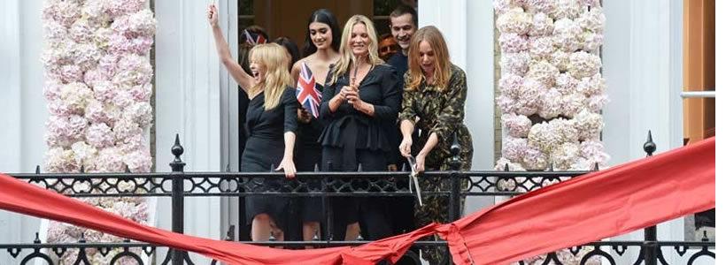 Stella McCartney inaugura un nuovo flagship store a Londra.