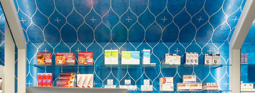 MARKETING-JAZZ designed the Pazó Pharmacy.