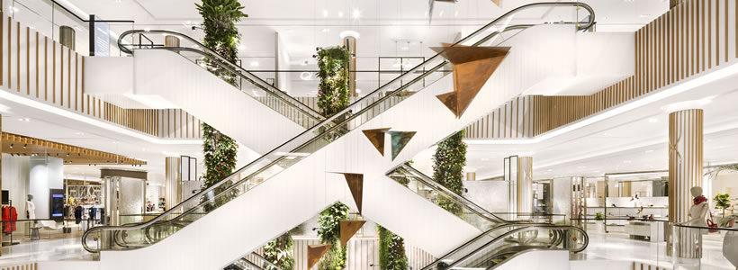 Department Store ROBINSONS Dubai.