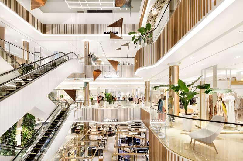 HMKM designed Robinsons Department Store Dubai