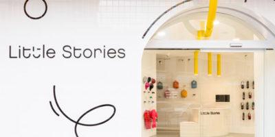 CLAP STUDIO progetta la boutique per bimbi Little Stories.