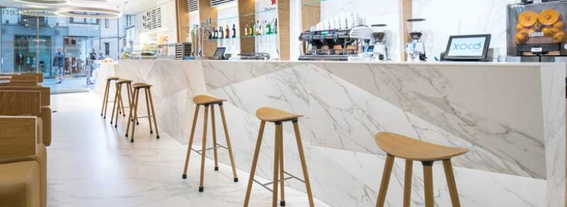 Style in store – Neolith® fashions singular surfaces for the retail market.