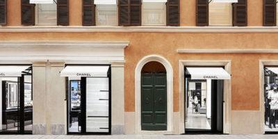 PETER MARINO progetta la boutique CHANEL di via del Babuino a Roma.