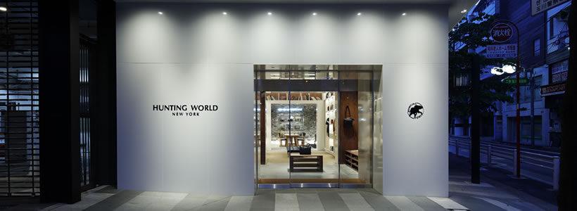 HUNTING WORLD Takashimaya Tamagawa Store.