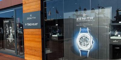 ZENITH e TAG HEUER: un pop-up store a Porto Cervo.