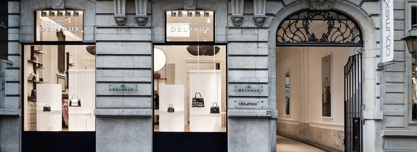 """DELVAUX presenta """"LE 27"""" a Bruxelles, molto più di una boutique."""