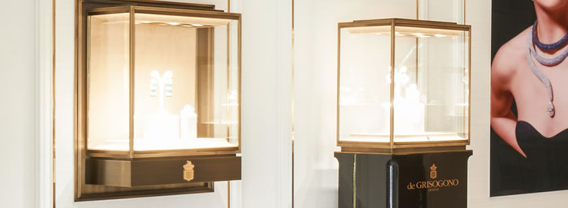 Lo Studio David Collins progetta la boutique de Grisogono a New York.