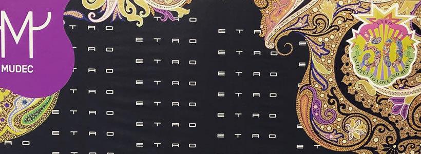 """Al MUDEC di Milano la mostra per i 50 anni di ETRO """"Generation Paisley"""""""