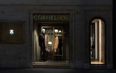 Boutique Corneliani via del Babuino Roma
