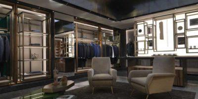CORNELIANI: nuova boutique in Via del Babuino a Roma.