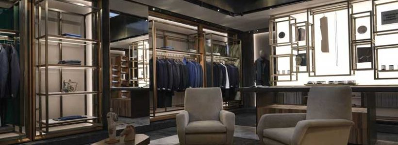 CORNELIANI: nuova boutique in Via del Babuino a Roma.