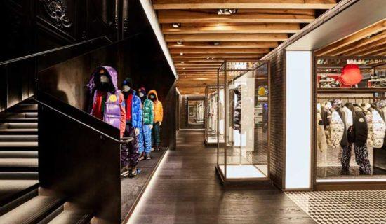 Nuova location per la boutique MONCLER a Soho, New York