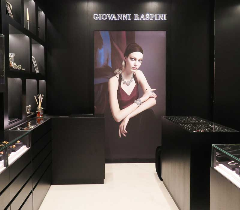 Giovanni Raspini boutique Verona