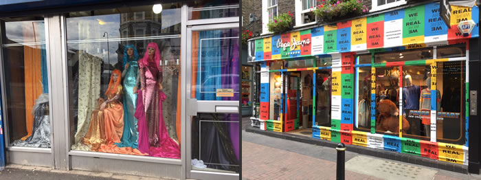 Cosa succede nelle vetrine e nei negozi di Londra