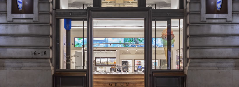 GROM inaugurates London's first flagship store designed by JHP.