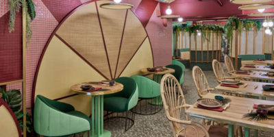 Kaikaya, the first tropical Sushi restaurant in Valencia, designed by Masquespacio