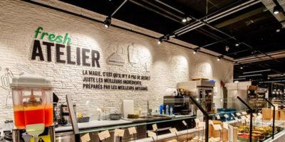 DELHAIZE : New supermarket concept.
