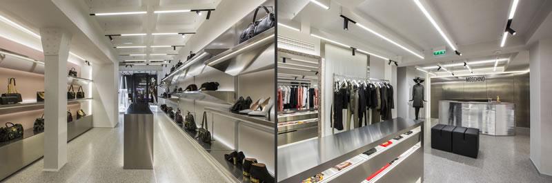 Moschino boutique Parigi rue Saint Honore
