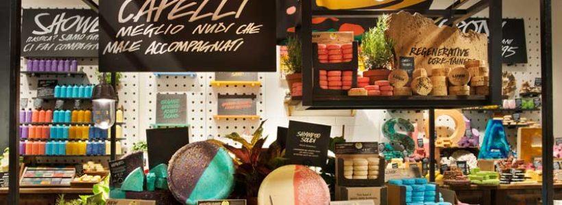 LUSH inebria Firenze con l'apertura di un nuovo profumato store nel cuore della città.