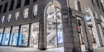 NIKE apre a Milano il flagship store più grande in Italia.