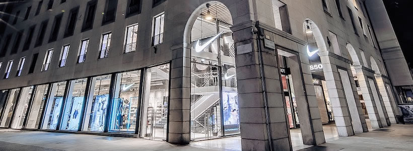 nike store italia milano