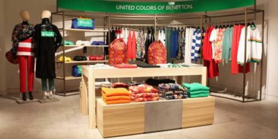 BENETTON: un pop up store da Selfridges.