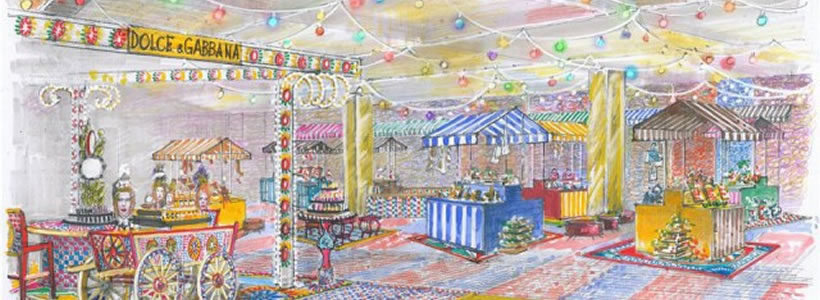 Il Natale di Rinascente firmato Dolce & Gabbana