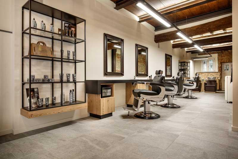 Arredi takara belmont per il salone more di rubiera an for Arredi per parrucchieri