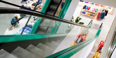 BENETTON rinnova lo store di Padova.