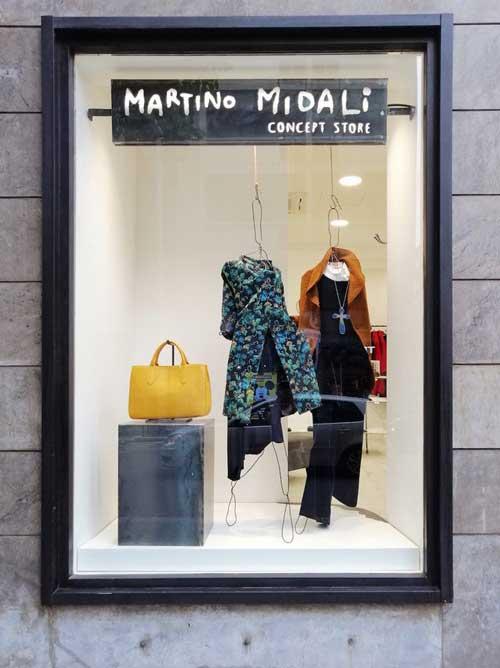 boutique Martino Midali via Sciuti Palermo