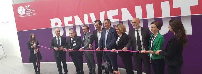 Inaugurato ieri il SALONE DEL FRANCHISING MILANO.