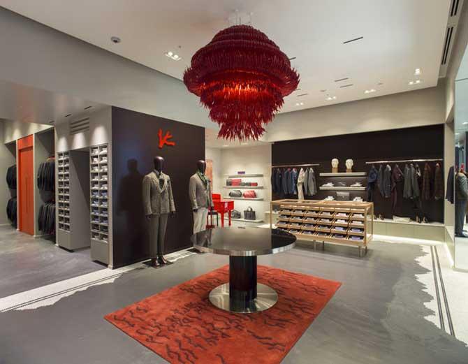 Isaia boutique Londra