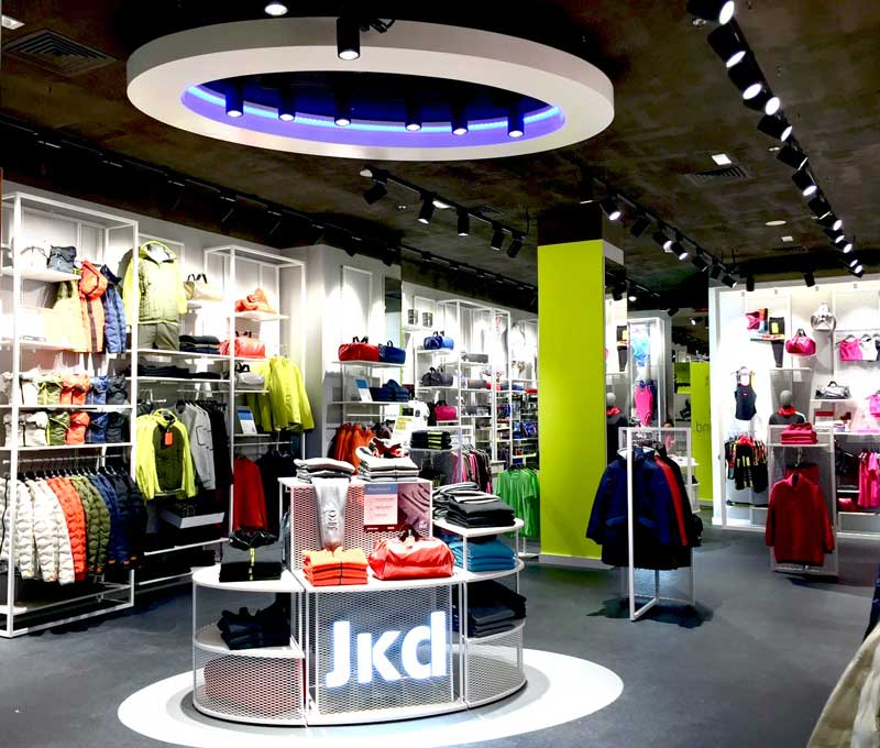 Jaked flagship store Roma