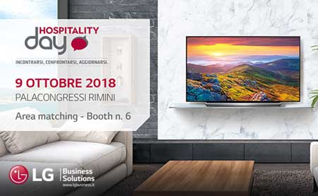 LG ELECTRONICS Hospitality Day Rimini 2018