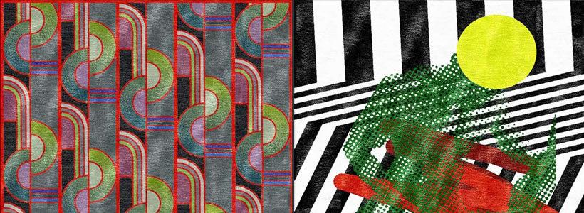 Pattern e cromatismi sofisticati per i nuovi tappeti di ILLULIAN firmati EMTIVI STUDIO