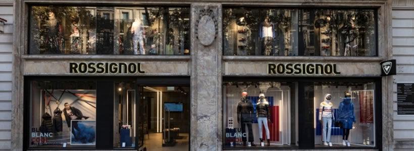 Primo flagship store a Parigi per ROSSIGNOL.