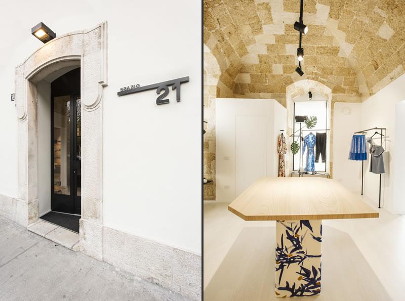 Retail design boutique Spazio 21