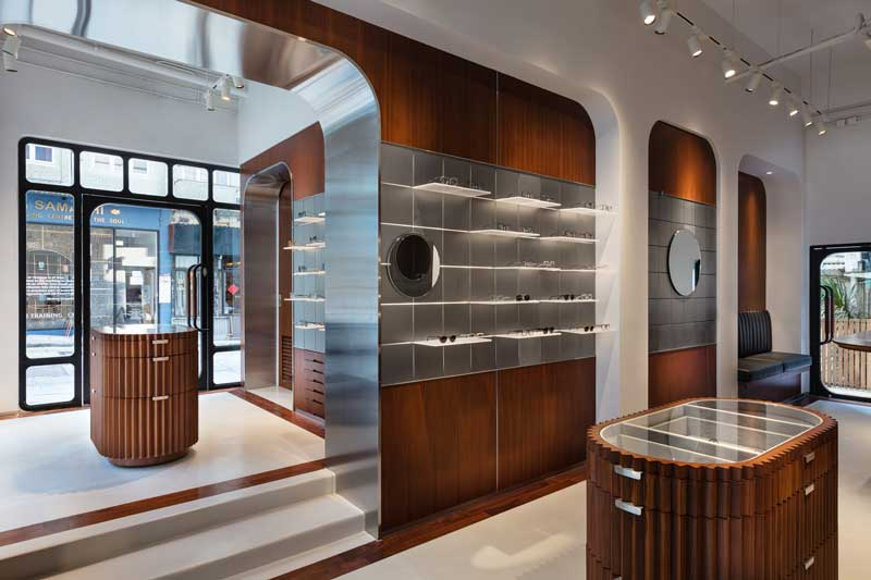 retail design Khromis eyewear flagship