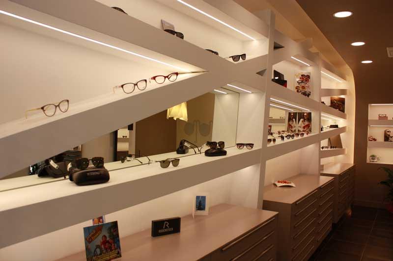 .Progetto negozio di Ottica Montevecchio Fano
